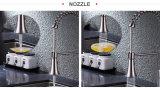 Gli articoli sanitari tir in giùare il rubinetto della cucina del dispersore della molla con la filigrana