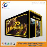 Cinéma populaire du simulateur 5D des films 9d d'animation pour la plate-forme électrique