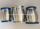 Steel inoxidável Sanitary Check Valve Ball Type com Ferrule Both Extremidade