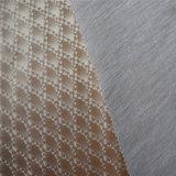 Cuoio sintetico del PVC di parete del documento dell'ornamento della decorazione lucida della casa