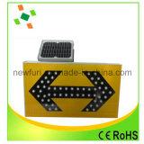 Sinal solar do batente do sinal de tráfego do diodo emissor de luz do alumínio