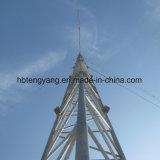 Typen TelekommunikationsGuyed Mast-des Stahlantennenmasts hergestellt in China