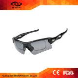 Resistente aos UV polarizada proteger homens Piscina Sport Andar óculos de sol