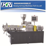 Parallel conique Co-Rotating Twin Screw Extruder et Small Plastic Recycling Mini Granulator Machine