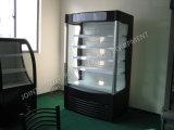 Étalage commercial de réfrigérateur de légumes de boisson de laiterie