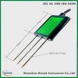 RS485 de Meter van de Sensor van de Vochtigheid van de Grond van de Meetapparaten van de temperatuur en van de Vochtigheid