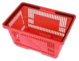Enregistrer les paniers à provisions en plastique de roulement avec le traitement 090511