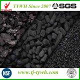 Carbono ativado lignite para a remoção de H2s
