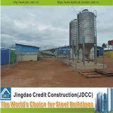 低価格の組立て式に作られた養鶏場の建物をインストールしなさい