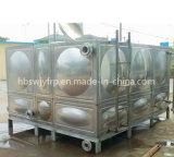 El tanque del agua potable del acero inoxidable