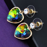 Valentine' S Day Jewelry Heart Shaped Color Changeable Earring Hook