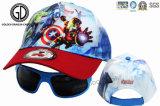 Casquette de baseball pour enfants avec des lunettes de soleil, les enfants Caps Clip sur des lunettes de soleil