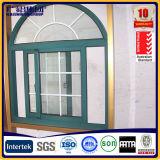 Arco de calidad superior de la ventana corrediza con Mosquitera y Parrillas