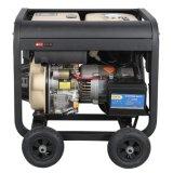 쉬운 운영 공기에 의하여 냉각되는 디젤 엔진 발전기 세트 (6KW)
