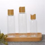 10g30g50g de plastic Witte Lege Duidelijke Kruik van de Fles van de Room van het Bamboe voor de Zorg van de Huid