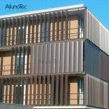 Las lumbreras acústicas de aluminio perforaron la lumbrera acústica