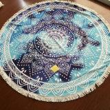 卸し売り円形の習慣によって印刷されるうたた寝のMicrofiberの曼荼羅のビーチタオル