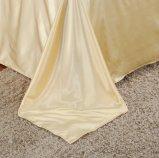 ホーム織物のサテンの絹ファブリック寝具