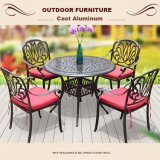 Самомоднейшие таблица и стулы мебели
