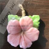 Forma da flor todo o sabão do hotel da planta dos tipos/sabão