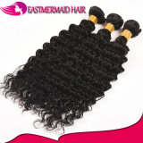 Самые популярные человеческие волосы 100% мягкого и ровного глубокого Weave волос волны малайзийского реальные