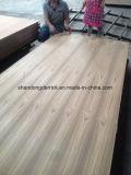 Pilhas AAA de 3,5 mm/ AA grau compensado de madeira de Teca Natural /Fancy Madeira contraplacada/Brum/ Teca