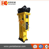 Martelo hidráulico do disjuntor dos escavadores da alta qualidade com formão de 100mm