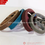 Courroies et disques de sablage abrasifs enduits reconnus par MPA (constructeur professionnel)