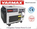 Yarmax 단일 위상 디젤 엔진 발전기 세트 침묵하는 6kw 발전기 디젤 엔진 Genset ISO9001 세륨