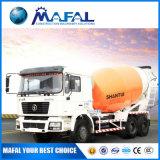 판매를 위한 1회분으로 처리 구체 믹서 Shantui 상표 구체 믹서 트럭의 무게를 다십시오