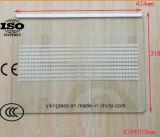 La configuration a fritté la glace durcie d'étagère de réfrigérateur avec le certificat australien