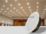 12W Super Mince plafond Downlight Led Epistar PF>0,95 avec la CE RoHS approbation