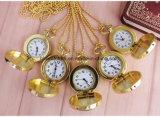 Les meilleures montres Pocket d'or en alliage de zinc de la vente 36mm avec le mouvement du Japon