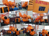Electric Power All in One Concrete Mixer with Pump 30 Cubic Meters For Hour