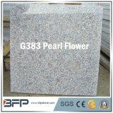 中国の自然な階段または正面のための石によって磨かれる灰色の花こう岩の床タイル