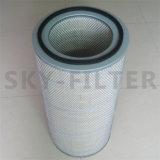 Abwechslung Rietschle Lufteinlauf-Filter gefalteter Papierfiltereinsatz (730517)