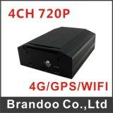 Videocamera di sicurezza mobile di Car DVR 4 Channel 720p Digital Video Recorder 4CH Audio Auto Vehicle Recording avoirdupois Support 2tb HDD