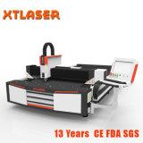 Máquina de estaca grande do laser da fibra do CNC do metal da potência 1500W