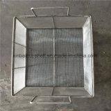 La esterilización de acero inoxidable Cesta de malla metálica