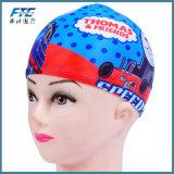 子供のシリコーンの適用範囲が広い防水水泳帽の帽子