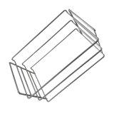 Malla de alambre de metal Gabion Canasta de almacenamiento frigorífico