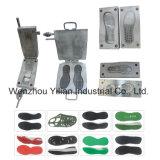 Semelle PU en aluminium pour sandale pantoufle du moule