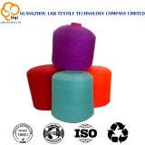 40s/2/3 높은 염색된 색깔 및 처리되지 않는 백색 색깔에 있는 강인에 의하여 회전되는 폴리에스테 꿰매는 스레드