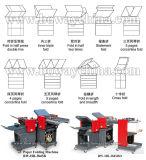 Máquina plegable del papel industrial automático A4 de Boway 22000sheets con la carpeta cruzada y la estación que introduce 384sbd