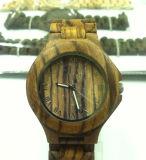 2015 forma Best Quartz Wood Watch para Man 15196