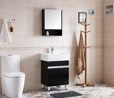 Fußboden - eingehangene einzelne Wannen-Furnierholz-Badezimmer-Schrank-Möbel