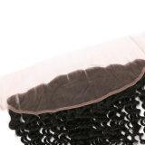 capelli umani dell'onda 13X4 dei capelli della parte superiore del Toupee indiano profondo di alta qualità