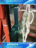 10.38-53.04mm de verre feuilleté de couleur claire pour les bâtiments des escaliers en verre de la main courante