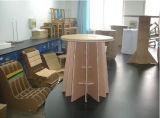 Decoración de interior de los muebles de cartón corrugado de papel de la visualización