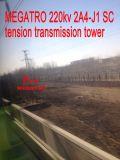 Torretta della trasmissione di tensionamento dello Sc di Megatro 220kv 2A4-J1